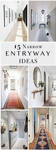 Do, You, To, Make, Your, Long, Narrow, Entryway, Or, Hallway, Appear, Bigger, These, Narrow, Entryway, Ideas
