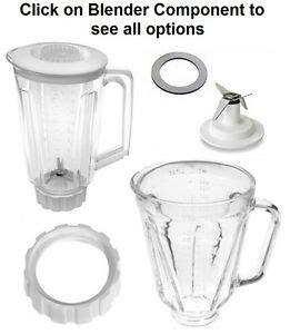 Kitchenaid Blender Jar Lid Sealing Gasket by Replacement Parts Fits Hamilton Blenders Blade