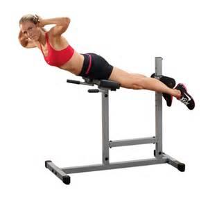 body solid powerline roman chair