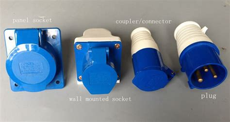 3 Way Three Phase Multiple Outlet Electric Power Socket