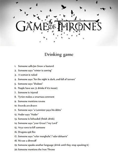 party theme game  thrones images  pinterest