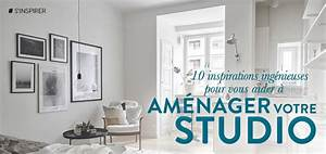 10 inspirations ingenieuses pour vous aider a amenager With comment meubler un studio 3 comment amenager un studio aventure deco