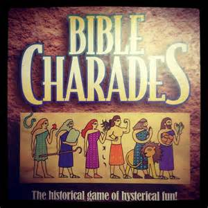 Bible Charades Game