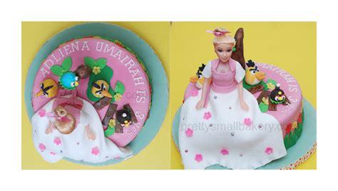 kek barbie angry birds bukit jelutong shah alam