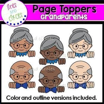 page toppers grandparents grandparents day