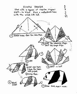 free coloring pages origami animals instructions origami With origami diagrams