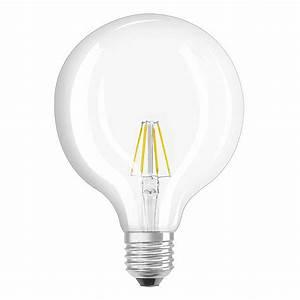Ampoule E27 Led : osram ampoule led retrofit classic globe e27 6w 60w a ~ Edinachiropracticcenter.com Idées de Décoration
