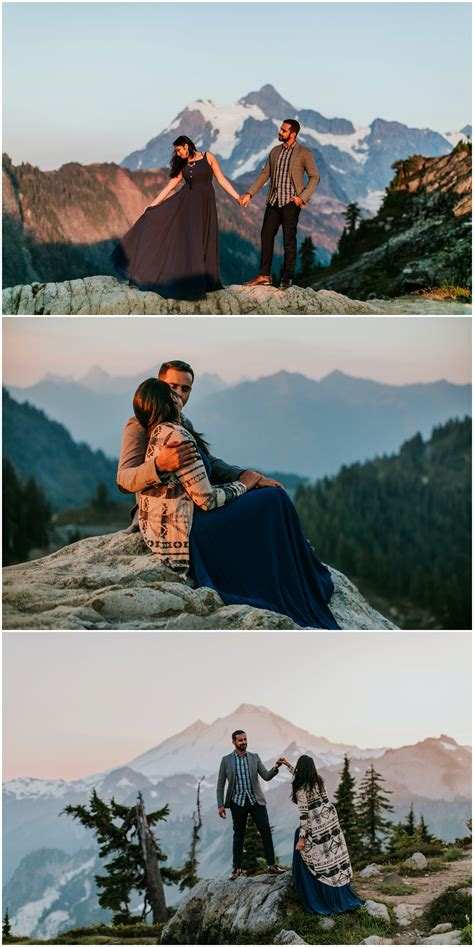 mt baker engagement session seattle wedding photographer
