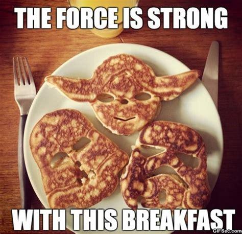 Funny Breakfast Memes - funny 2014 star wars pancakes jpg