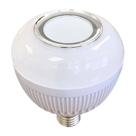 speaker light bulb lowes shop blue sky wireless 65 w equivalent dimmable warm white