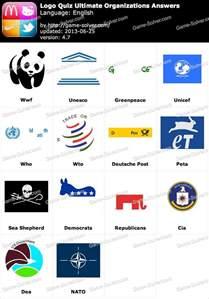 Logo Quiz Ultimate Answers Organizations