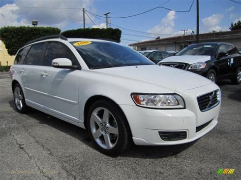 2008 Volvo V50 24i In Ice White 406728 Jax Sports