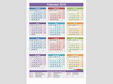 January 2019 Broadcast Calendar Calendar Creative Printable