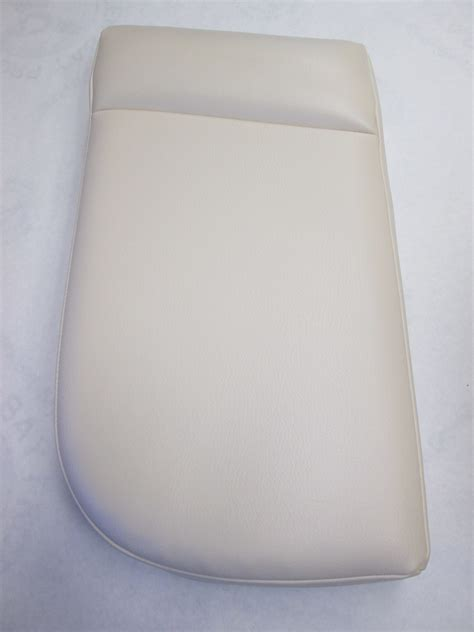 Used Boat Cushions For Sale by White Boat Seat Cushion 23 Quot X12 Quot Ebay