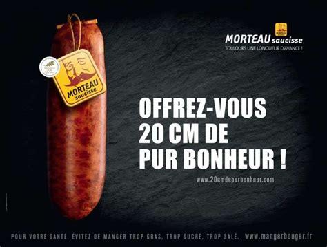 comment cuisiner la saucisse de morteau la dernière publicité pour la saucisse de morteau agace