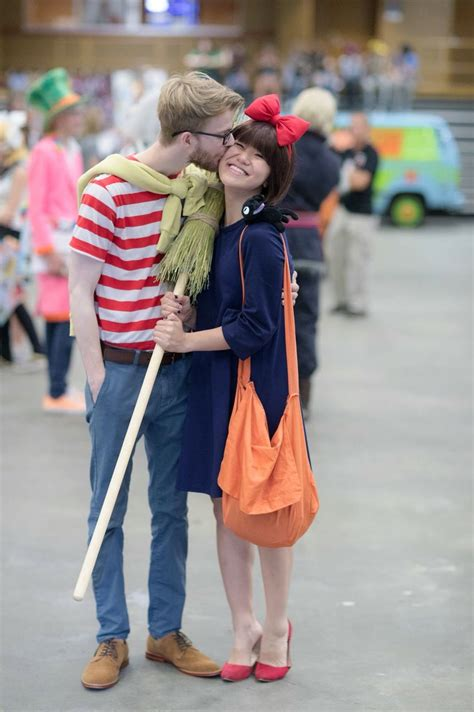 Kikis Delivery Service Cosplay Kiki And Tombo Couples