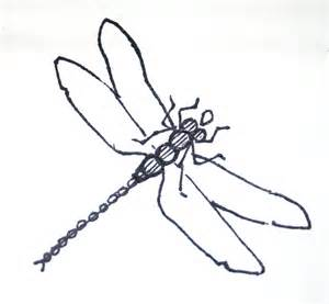 basic outlines of dragonflies dragonfly outline clipartion com