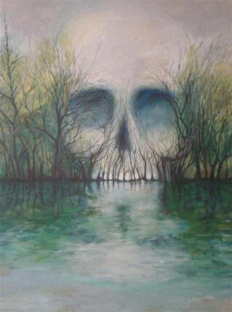 Skull Bodom Lake Firstfromhell Deviantart