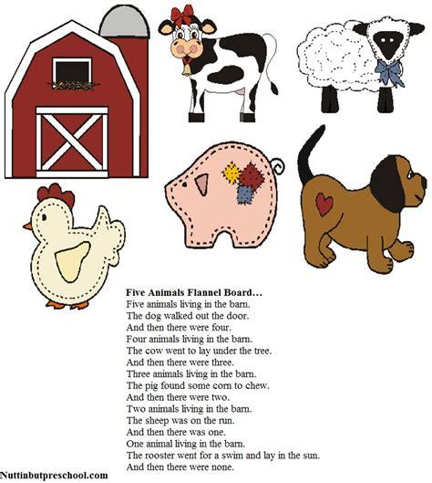 dog stories for preschoolers felt board patterns five animals flannel board nuttin 717
