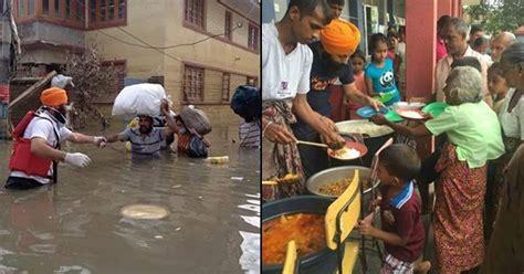 khalsa aid joins  kerala flood rescue effort organizes langar services   people