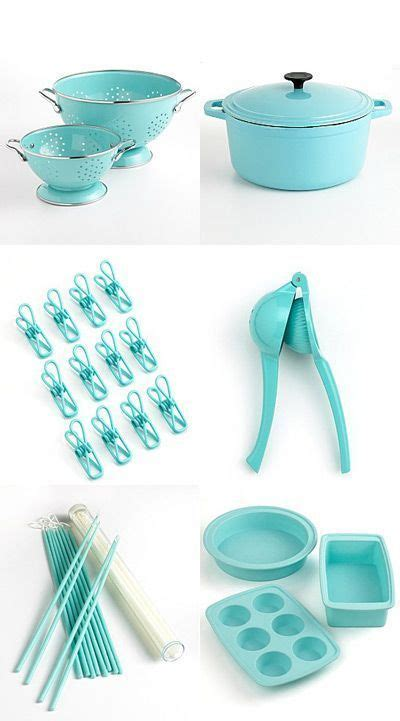 Martha Stewart Tiffany Blue     More Tiffany Blue Kitchen