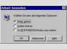 Windows Fehlermeldungen