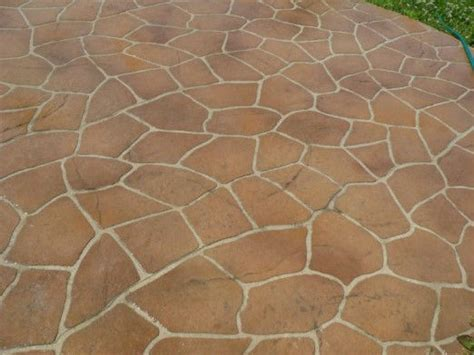 flagstone pattern flagstone stencil roll rcs contractor supplies