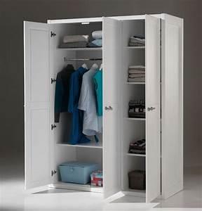Kleiderschrank 3 Türig Weiß : kleiderschrank lewis 3 t rig wei kinder jugendzimmer kleiderschr nke ~ Bigdaddyawards.com Haus und Dekorationen