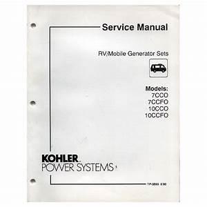 Original 1993 Kohler Rv  Mobile Generator Sets Service
