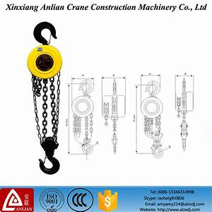 China 3 Ton Manual Crane Hoist Hsz Type 3 Ton Chain Pulley