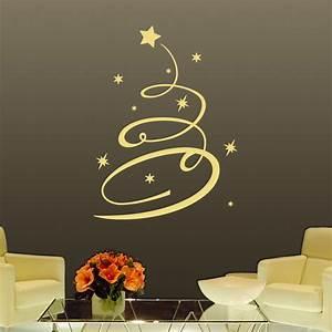 stickers decoratifs pour noel sticker arbre de noel With carrelage adhesif salle de bain avec led christmas tree