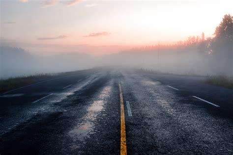 road, Sunlight, Mist, Asphalt Wallpapers HD / Desktop and ...