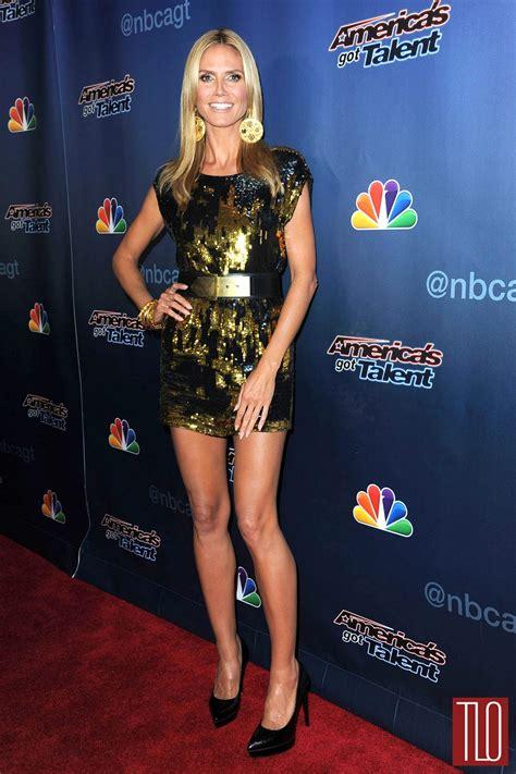 Heidi Klum Zadig Voltaire America Got Talent