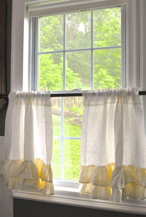 vorhänge für küchenfenster beeindruckend die h 228 lfte vorhang f 252 r k 252 chenfenster k 252 che