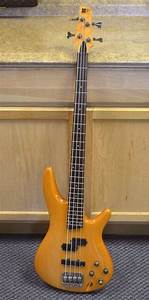 Ibanez Soundgear Sr 400 Electric Bass Guitar Wood Finish Free Shipping 606559467389