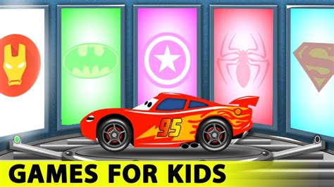 Lightning Mcqueen And Spiderman Cars Cartoon For Kids With