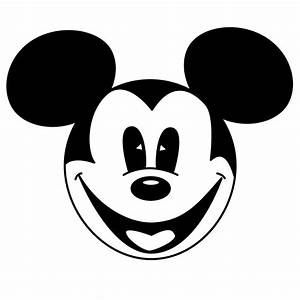 Mickey And Minnie Mouse Head Clip Art - ClipArt Best