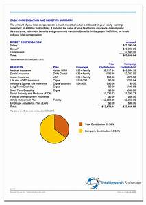 compensation packages ninjaturtletechrepairsco With total rewards statement template