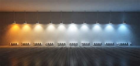 cool white versus warm white simple lighting