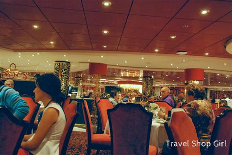 Dining in the MSC Divina Main Dining Room: The Black Crab