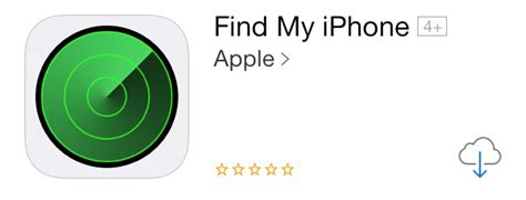 find my iphone updates with ios7 style icon breaks for