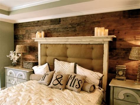 plank wall bedroom ideas  pinterest diy wood
