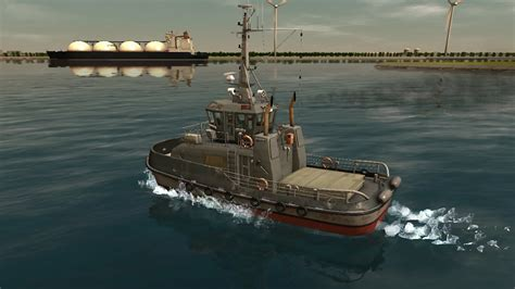 Tugboat Simulator Game by European Ship Simulator Remastered Free Download