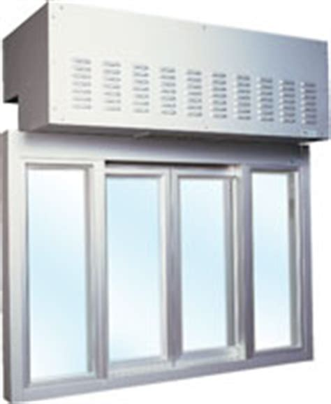 aa300 heated air curtain