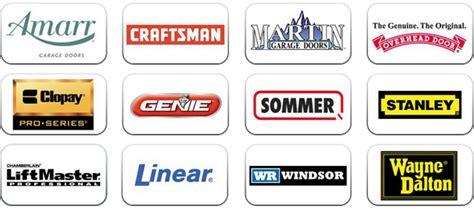 garage door brands garage door services customer s choice garage doors of