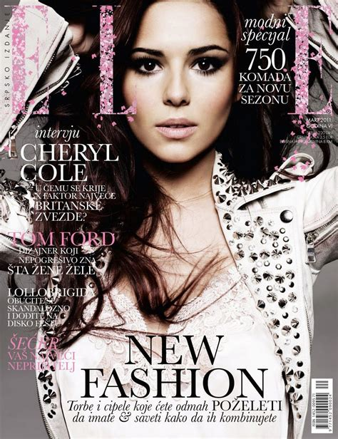 Cheryl Cole For Elle Serbia March 2011  Art8amby's Blog