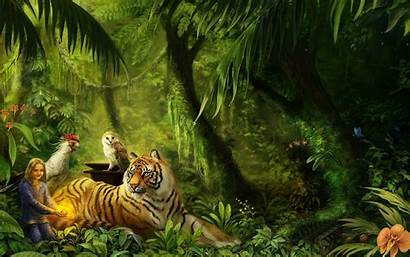 Jungle Background Wallpapers Animal Animated Backgrounds Computer