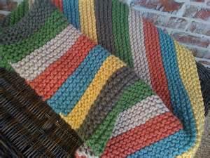 Baby Stroller Blanket Knitting Pattern