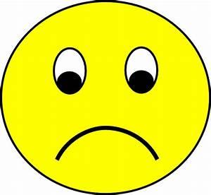 Sad Smiley Clip Art at Clker.com - vector clip art online ...