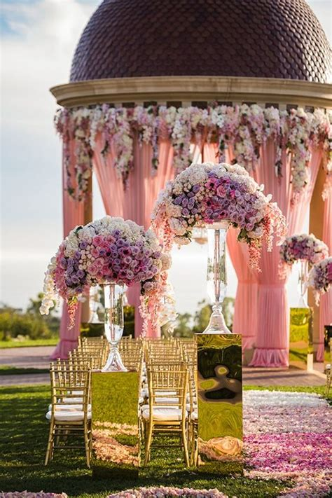 LUXURY OUTDOOR WEDDING CEREMONY INSPIRATION Sonal J